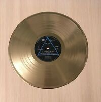 Pink Floyd - The Dark Side Of The Moon Gold Vinyl 1973 HARVEST FIRST PRESS LABEL