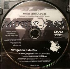 GM GPS Navigation Data Disc P/N 20940248 SILVERADO, HUMMER H2, DENALI, LTZ