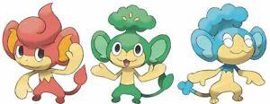 Pansage #511 Pansear #513 Panpour #515 ✔Regional Pokemon Go ✔ Quick