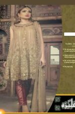 633bf9544e Maria B 2017 Latest Net Embroidery Collection Shalwar Kameez (UNSTICHED)
