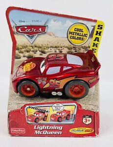 2006 Fisher Price SHAKE N GO Pixar Cars Metallic Lightning McQueen