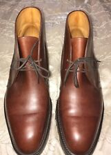 John Lobb Kent Boot Supple Brown Leather numbered 2861/8645 Men's size 8.5