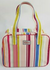 Cath Kidston Large Boxy Zip Bag Gurensey Stripe (Mult-Colour) Brand New with Tag