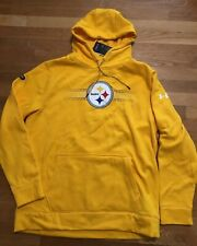 Under Armour Pittsburgh Steelers Mens Hoodie Size Small Nwt Combine Authentic