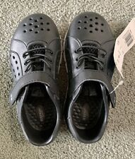Surprize by Stride Rite Toddler Boys Black White Tex Land & Water Shoes Size 8