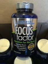 NEW FOCUS Factor Brain Health Memory Dietary Supplement 150 Tablets Exp 12/19