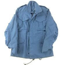 Vintage John Ownbey Military US M-65 Vietnam Field Coat Jacket XS Light Blue NEW