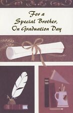 Popular Greetings Graduation Card: For a Special Brother...You've Worked Hard...