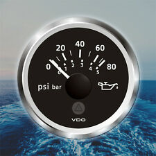 "VDO Viewline Engine Oil Temperature Gauge 52mm 2/"" 120-300F Black A2C60100302"