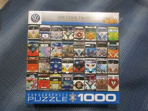 VW Cool Faces, 1000 piece, Eurographics Puzzle, NIB