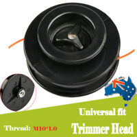 AU Replacement Universal High Speed Strimmer 2 Line Trimmer Head 2.4mm M10*1.25