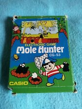 Mole Hunter Cg-53 Electronic Game Casio