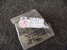 NY New York Yankees 100th Season 26 World & 38 American League Championships pin