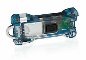 Armytek Zippy Blau 200 lumen mini Taschenlampe Schlüsselanhänger Hunde LED lampe