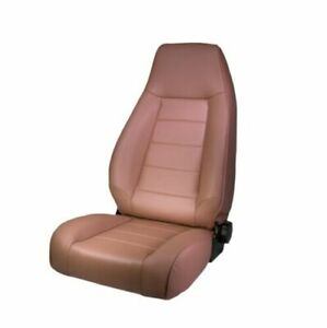 Rugged Ridge 13402.04 Tan High Back Reclinable Front Seat for Jeep CJ & Wrangler