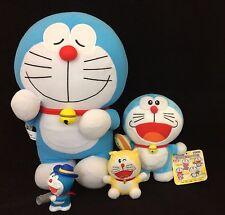 Job lot of Japanese licensed Doraemon soft toys and figure, Japan import (O924)