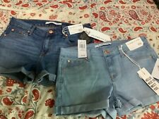 Lot of 2 CELEBRITY  PINK Juniors Womens size 9/29 denim blue STRETCH NEW NWT