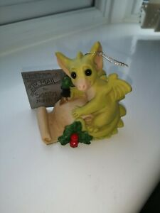 """The Whimsical World Of Pocket Dragons """"Dear Santa"""" By Real Musgrave"""