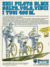 W5552 Bici BMX BIANCHI - Pubblicità 1984 - Advertising