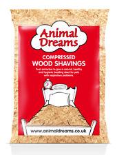 LARGE ANIIMAL DREAMS NATURAL WOOD SHAVINGS SAWDUST PET BEDDING HAMSTER RABBIT