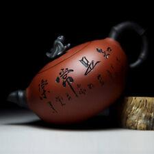 Chinese Yixing Tea Pot Handmade Yixing Zisha Ceramic Gongfu Teapot