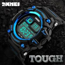 Cool Mens SKMEI LED Date Watch Quartz Casual Waterproof Military Wristwatches