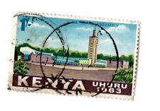 KENYA UHURU 1963 1 SHILLING ; USED s*