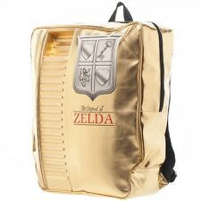Nintendo ZELDA Gold Cartridge BACPACK 3D Mens Boys Shoulder School Book Bag COOL