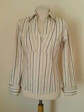 Hip Length Formal Striped Tops & Shirts NEXT for Women