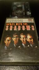 THE SHADOWS - DANCE WITH THE SHADOWS - DOUBLE PLAY CASSETTE TAPE ALBUM