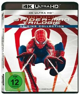 Spider-Man - Teil: 1 - 3 (Sam Raimi / Tobey Maguire)[4K UHD Blu-ray /NEU/OVP]