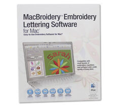 Sares Brother MacBroidery Embroidery Lettering Software for Mac
