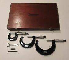 Micrometer & Caliper Set