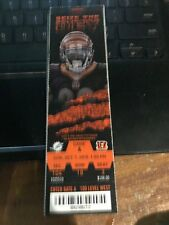 2018 CINCINNATI BENGALS VS MIAMI DOLPHINS TICKET STUB 10/7 NFL