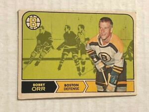 1968-69 O-Pee-Chee #2 Bobby Orr See Scans for Condition