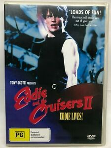 Eddie and the Cruisers 2 - Eddie Lives ! - DVD - AusPost with Tracking