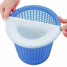 5/10/20PCS Swimming Pool Trash Basket Skimmer Nylon Filter Socks Supplies