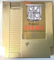 Legend OF ZELDA Rare FIRST Print TM NES GOLD 5-SCREW Cart TESTED! NICE! Nintendo
