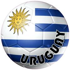 decal sticker worldcup car bumper flag team soccer ball foot football uruguay