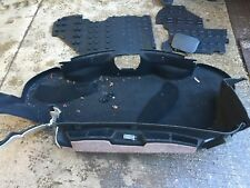 PORSCHE BOXSTER  987 2006 YEAR REAR BOOT CARPETS IN BLACK AF06
