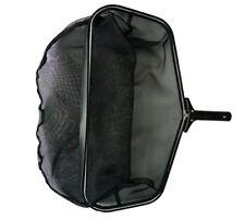 "Stiff Black Professional Grade Leaf Pools Rake Skimmer Net, 24"" L Patio, Lawn ne"