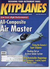 Kitplanes:(Jan-June '96') 6 Issues