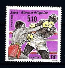 ST. PIERRE E MIQUELON - 1996 - La Boxe