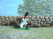 Vintage Airfix Napoleonic Berg grenadier kneeling firing 1:32 painted