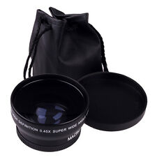 52MM 0.45X Grand Angle Macro pour Nikon D5000 D5100 D3200 D3100 D90 nouveau