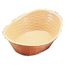 Oval Polypropylene Basket Bread Basket Chip Takeaway Fast Food Bowl 215x160mm