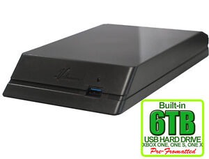 New Avolusion HDDGear 6TB (6000GB) USB 3.0 External XBOX ONE Gaming Hard Drive