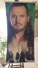 RARE! DOUBLE- SIDED  VINYLE  STAR WARS  BANNER!  62x30