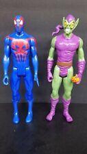 "Marvel Titan Hero Series 12"" inch Action Figures Spider-Man 2099& green goblin"