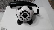 Telefono fisso palla da calcio CE bianconero Juve funzionante ma leggi descr